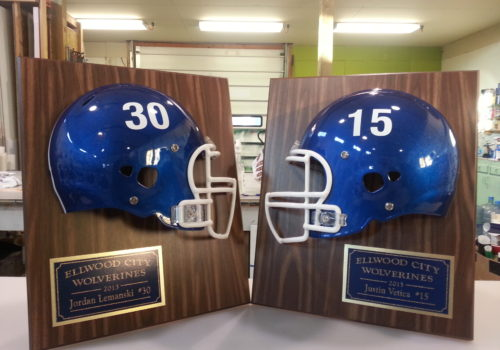 Custom Football Plaques