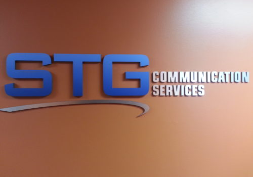 Dimensional Wall Lettering