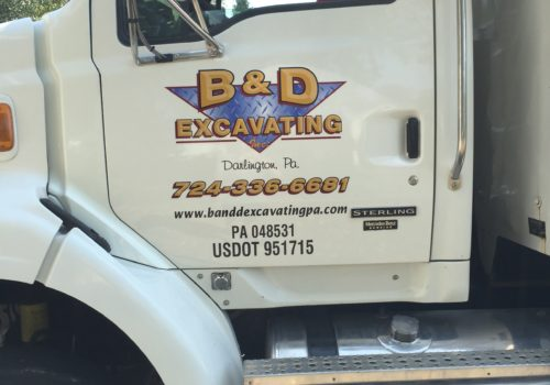 Truck Door Graphics