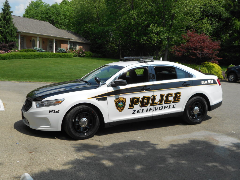 police car graphic lettering ellwood city pa custom. Black Bedroom Furniture Sets. Home Design Ideas