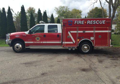 Fire & Rescue Truck Lettering
