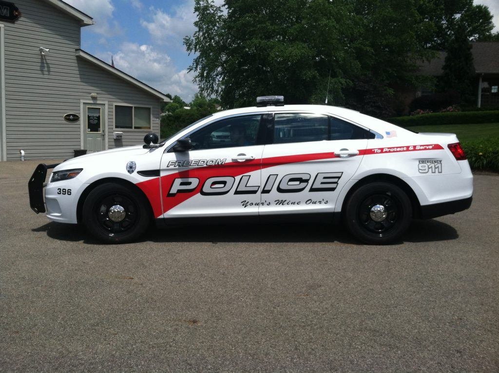 Police Cruiser Graphics Amp Lettering Signs By Sam