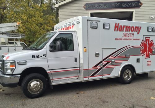 Ambulance Graphics & Lettering