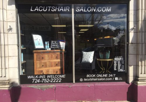 Salon Window Graphics
