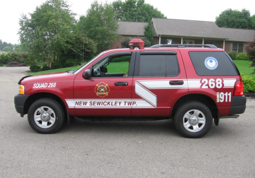 Emergency SUV Graphics