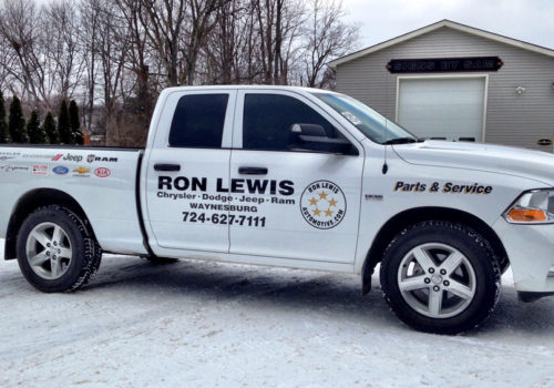 Truck Graphics & Lettering