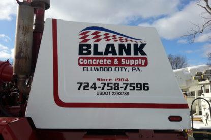 Cement Truck Fleet Graphics