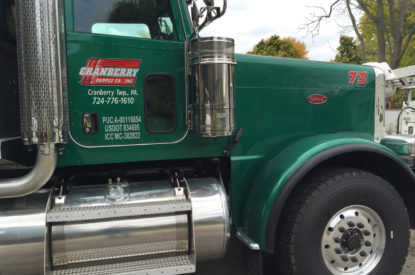 Semi Truck Trailer Door Graphics