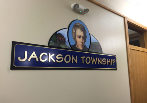 Township Interior Wall Signage