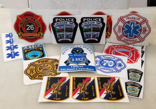 Fire & Police Decals