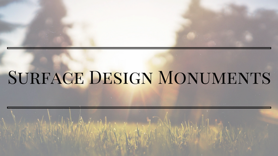 Surface Design Monuments Title