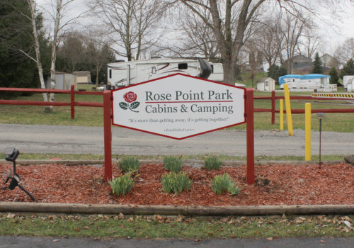 Campground Signage