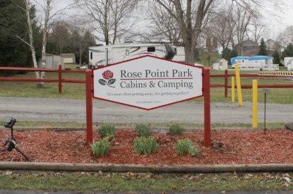 Campground Signage